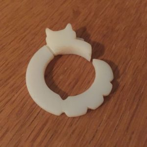 Final 3D printed ring
