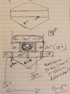 Sketch for over-sized Arduino-powered tilt switch