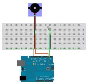 Starting circuit for giant tilt switch