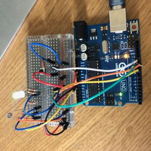 Arduino networked lamp circuit v2