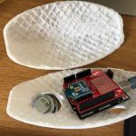 XBee with Arduino Uno inside 2mm plastic shell