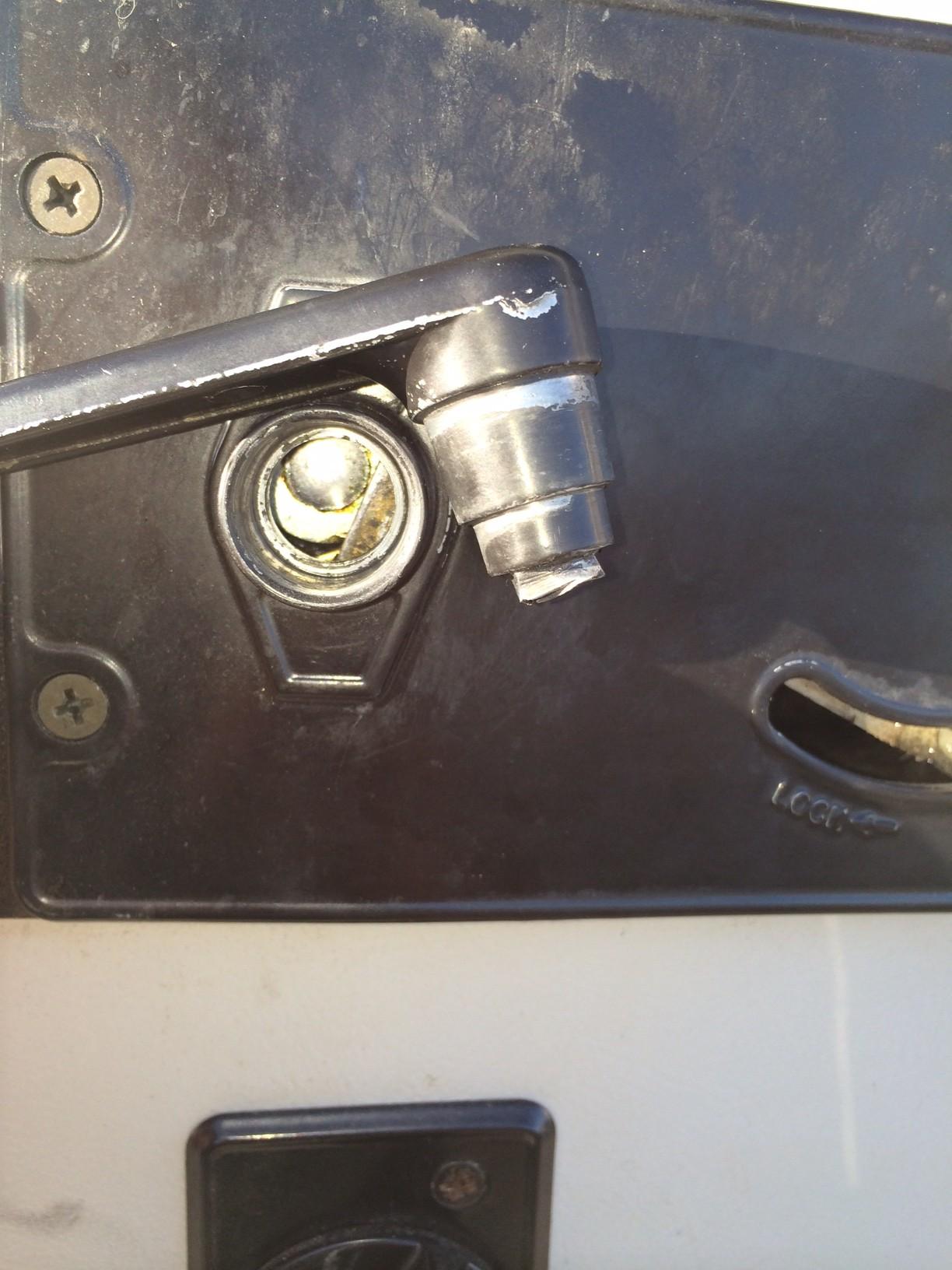 Airstream Door Handle Nightmare