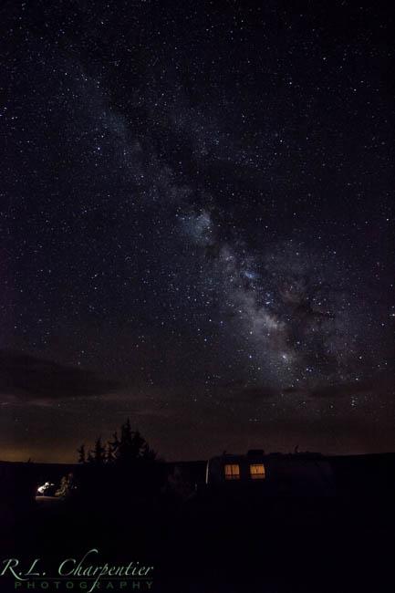 Milky way, Prescott Landscape Photographer Rich Charpentier