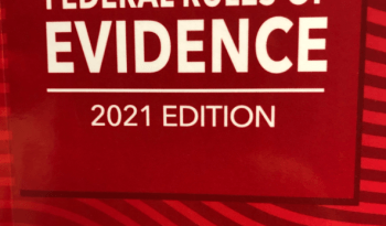 Federal Rules of Evidence Book Cover