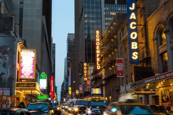 A Broadway view