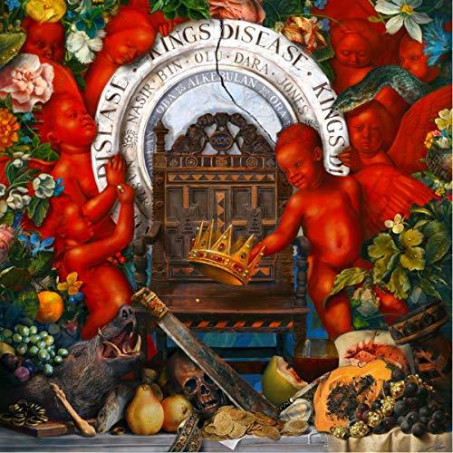 Nas - King's Disease cd cover