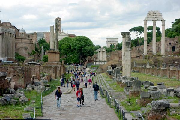 Doing The Caesar Shuffle In Rome Rick Steves Travel Blog