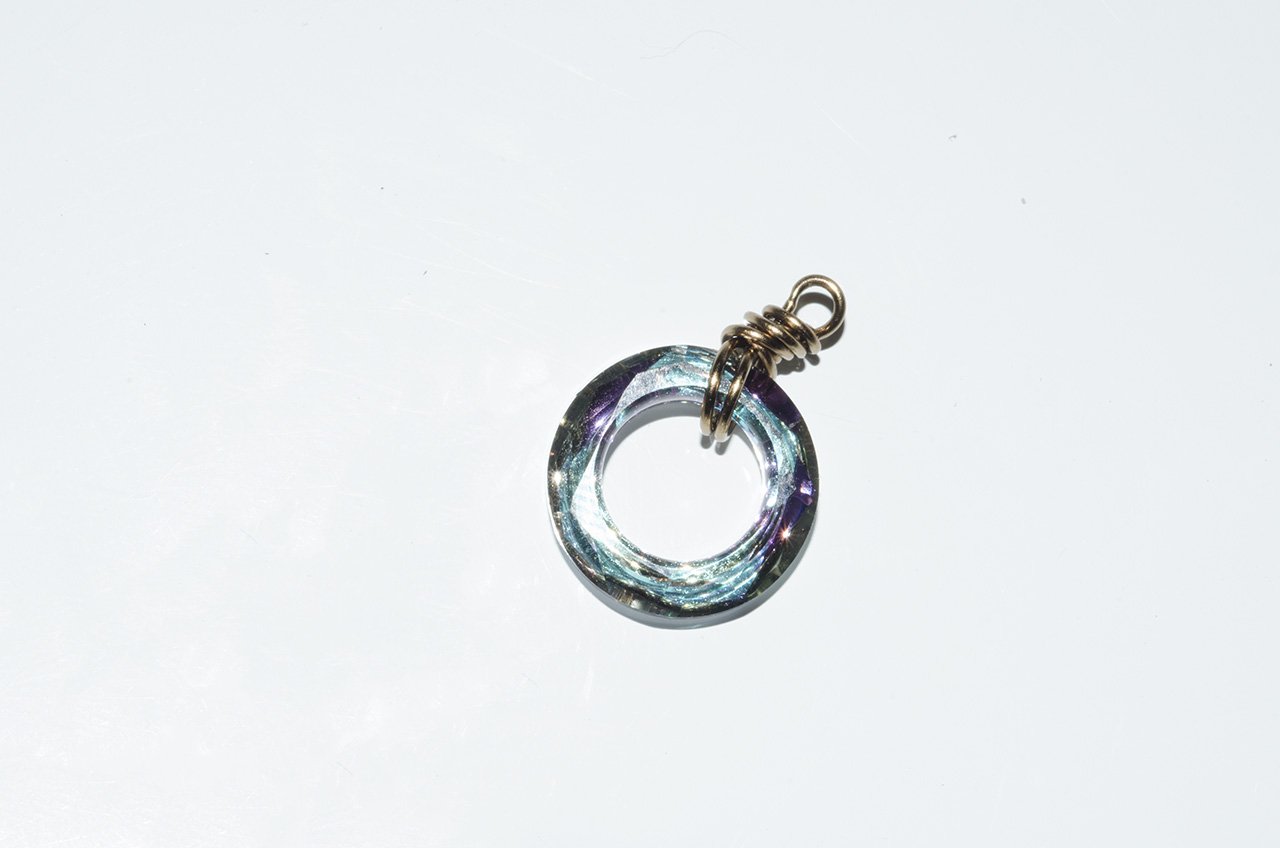 Diy Earrings With Swarovski Cosmic Rings Rings And Things