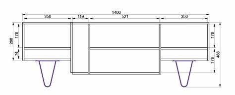 meuble tv cotes