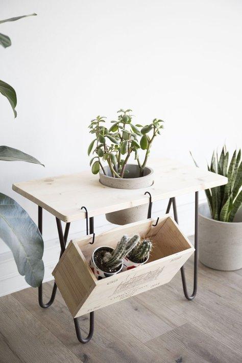 banc plantes diy