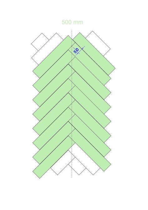Plan grande planches 50 cm