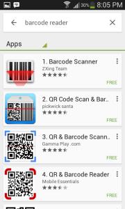1 Aplikasi Android untuk Cek Barcode e-Faktur - hasil pencarian keyword Barcode Reader