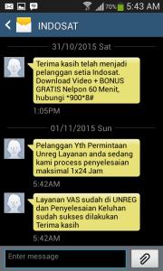 07 unreg 99517 sms ke2 dari indosat