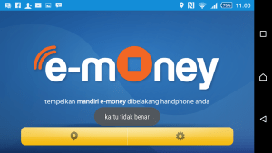 003 Test ektp memakai e0money