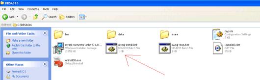 DBSAS16 mysql-install