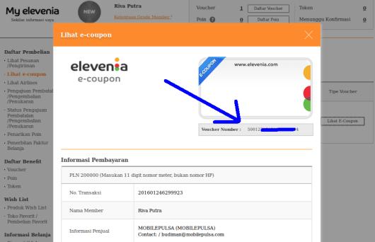 kode token ada di e-coupon Screenshot from 2016-01-24 13:17:42
