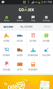 Top Up Gojek 150rb Screenshot_2016-05-08-14-41-47