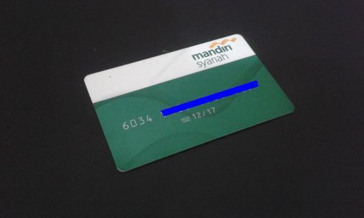 Kartu ATM BSM - KADALUARSA - VALID THRU