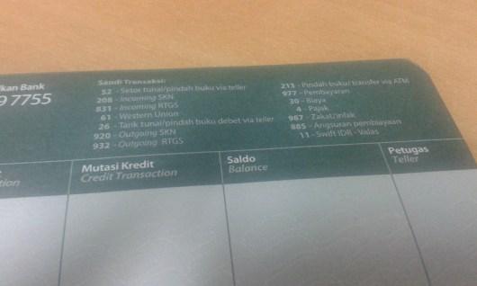 2 Sandi Transaksi Bank Syariah Mandiri (BSM)
