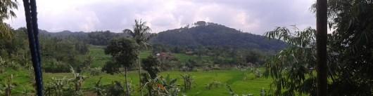 Perdana mengambil foto panorama pemandangan