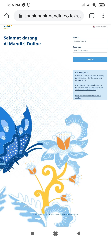 Cara Screenshot Tampilan Mandiri Online Blog Rivaekaputra Com