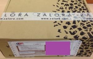 Zalora Delivery Box