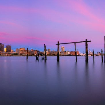 Lo Presti Park, Boston, sunrise