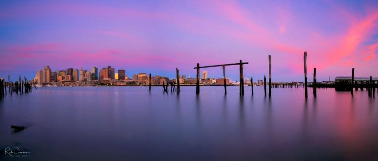 Lo Presti Park, Boston, sunrise