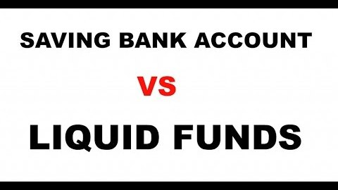 Saving bank account liquid fund