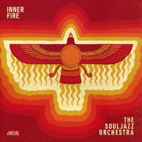 Pochette de l'album Inner Fire de The Souljazz Orchestra – Inner Fire