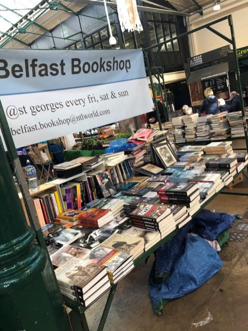 Belfast bookstall