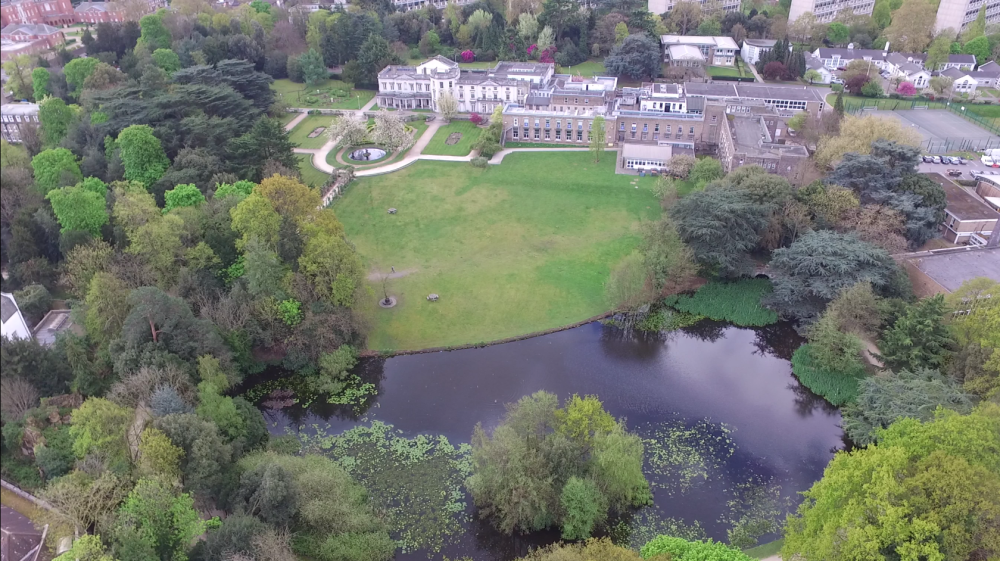 Aerial view of Froebel College
