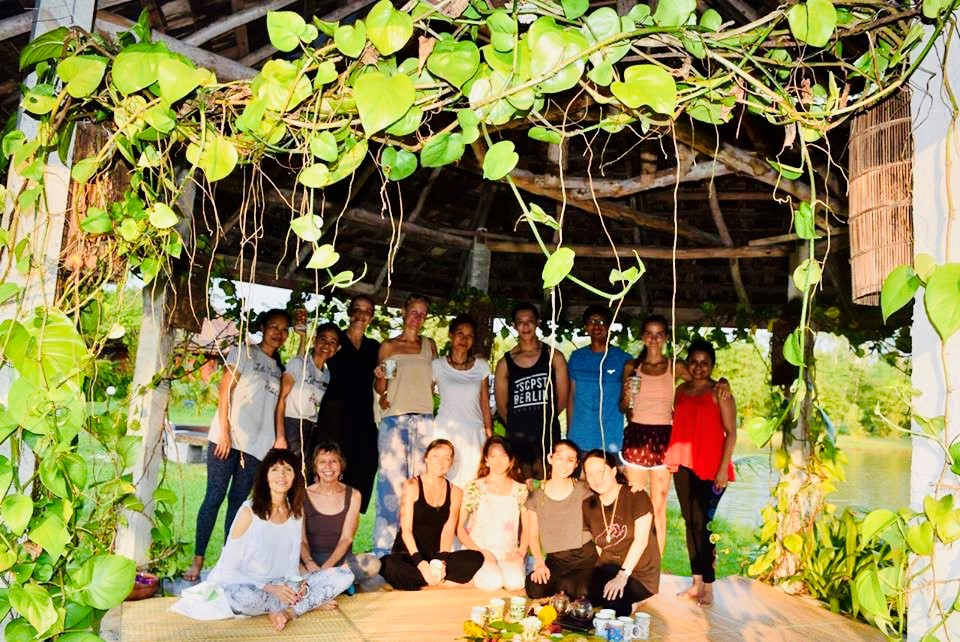 Students at a Soul Writing retreat