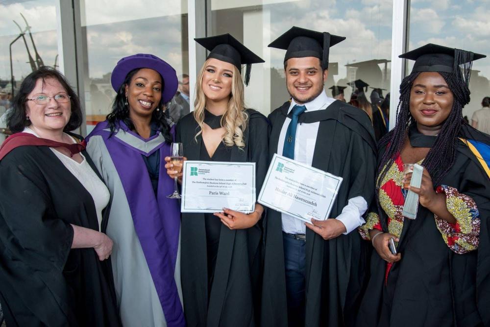 Roehampton students at graduation