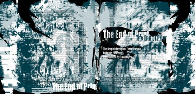 David Carson The End of Print