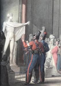 2776771_kazaki_v_parizhe_010 Любопытная коллекция акварелей Георга-Эммануэля Опица (1775-1841), который был очевидцем событий 1814 года и входа русско-австрийский войск в Париж. Казаки в Париже в 1814 году. Цветная литография. 2776771 kazaki v parizhe 010