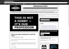 сайт союза музыкантов