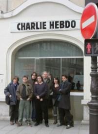 сотрудники Charlie Hebdo, четверо из них погибло CHARLIE HEBDO. RIP CHARLIE HEBDO. RIP                      Charlie Hebdo