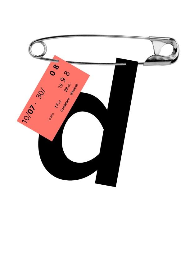 Плакат к выставке текстиля. 1998 На выставке экспонировались работы из ткани, сделанные женщинами. На лаконич-ном плакате Сонноли всё и так, казалось бы, исключительно наглядно. Но он еще усиливает информативность буквой «d» – первой буквой слова «donna», женщина. И снова типографика соединяется у него с фотографией.  ЛЕОНАРДО СОННОЛИ. ОН ИТАЛЬЯНЕЦ, И ЭТО МНОГОЕ ОБЪЯСНЯЕТ. С.Серов ЛЕОНАРДО СОННОЛИ. ОН ИТАЛЬЯНЕЦ, И ЭТО МНОГОЕ ОБЪЯСНЯЕТ. С.Серов Donne Lavoro