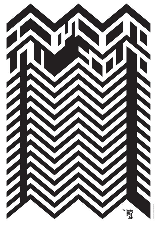 Плакат памяти Сигео Фукуды. 2009 Плакат для международной дизайнерской акции памяти японского дизайнера-графика Сигео Фукуды, великого плакатиста и мастера оптических иллюзий. Над-пись «To Shigeo Fukuda» на плакате Сонноли тоже превращает в оптическую загад-ку.  ЛЕОНАРДО СОННОЛИ. ОН ИТАЛЬЯНЕЦ, И ЭТО МНОГОЕ ОБЪЯСНЯЕТ. С.Серов ЛЕОНАРДО СОННОЛИ. ОН ИТАЛЬЯНЕЦ, И ЭТО МНОГОЕ ОБЪЯСНЯЕТ. С.Серов sonnoli  fukuda de