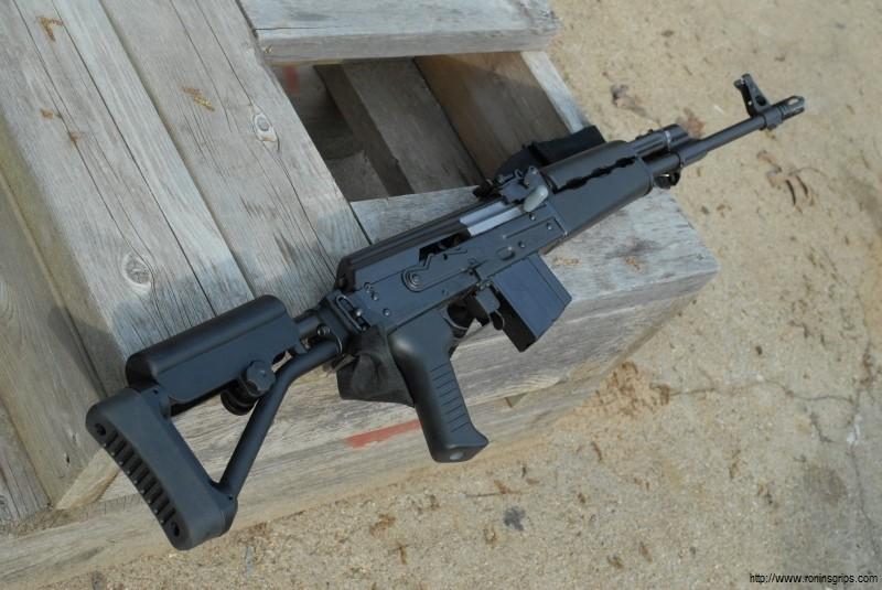 Converted a Base Zastava M77  308 DMR - Ronin's Grips