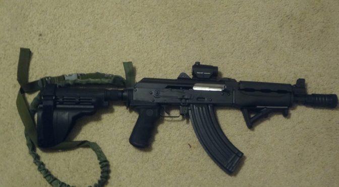 Jef's M92 PAP – Dark OD Handguards and Quick Takedown Pin