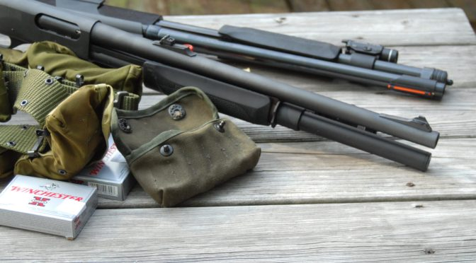 Remington 870 and Winchester 1200 Riot Shotguns