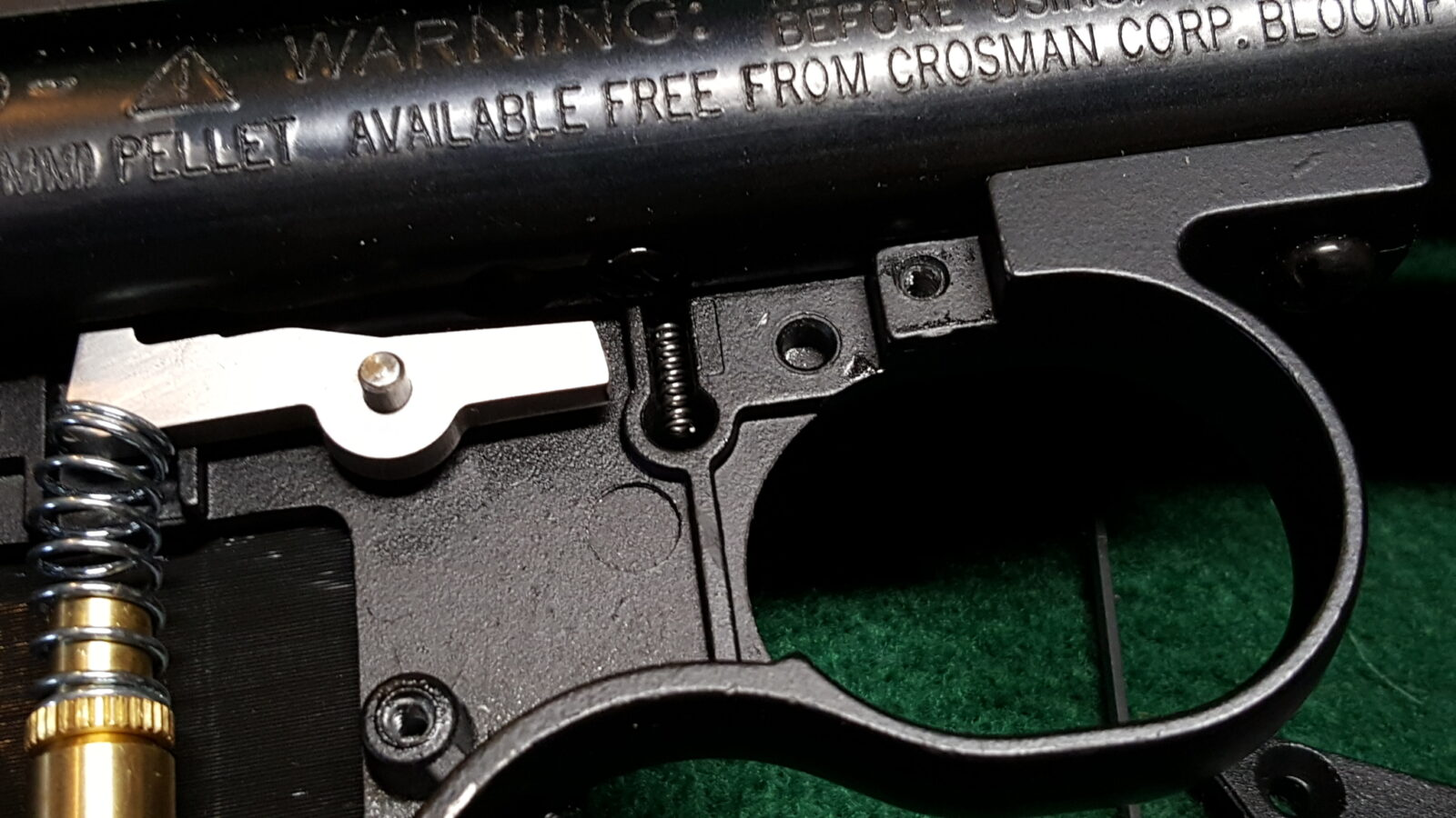 BEST PRICE New Crosman SAFETY SPRING ONLY for models 2240 1322 1377 2300 etc.