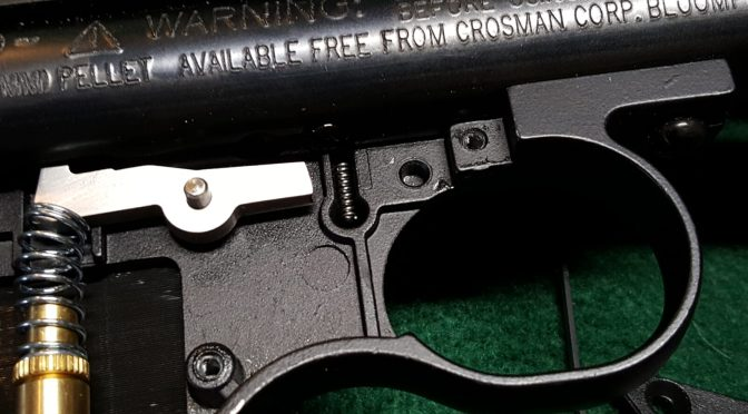 What to do if the Crosman 2240 safety spring and detent ball fall out