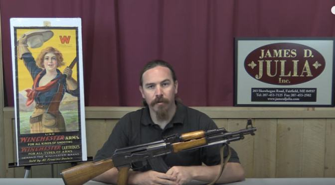 Video:  Chinese Type 56 AK-57 (Shooting and History) by Forgotten Weapons