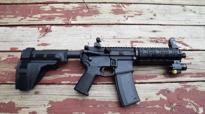 ATF letter stating you can build an AR pistol from a receiver transferred as such and never assembled as a rifle