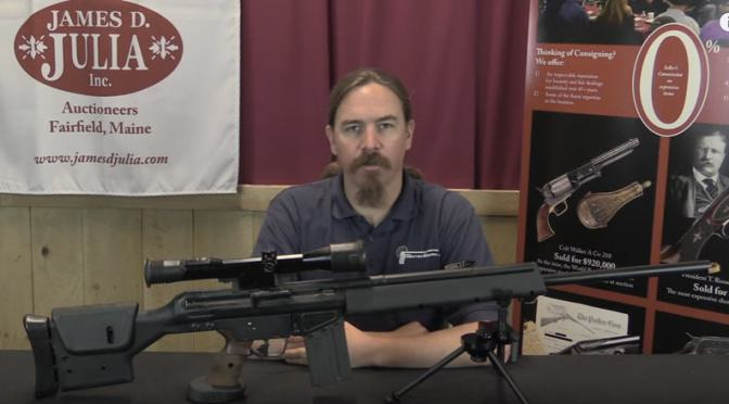 Video:  H&K PSG-1: The Ultimate German Sniper Rifle by Forgotten Weapons