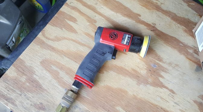 Review:  Chicago Pneumatic CP7200 Mini Orbital Sander is Solid!