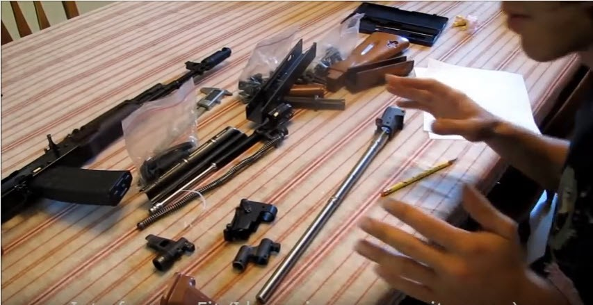 Video: How to build an AK-47, AK-74, AKM  Complete video tutorial by